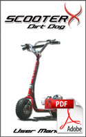 Dirt Dog Product Manual