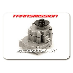 Transmission with 17 Tooth Sprocket